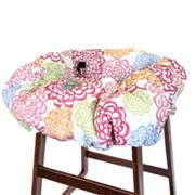 Itzy Ritzy Fresh Bloom Shopping Cart and High Chair Cover