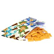 Itzy Ritzy 2-pk. Funky Monkey Remix Reusable Mini Snack Bag