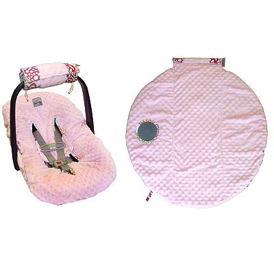 Itzy Ritzy Wrap and Roll Infant Carrier Arm Pad and Tummy Time Mat