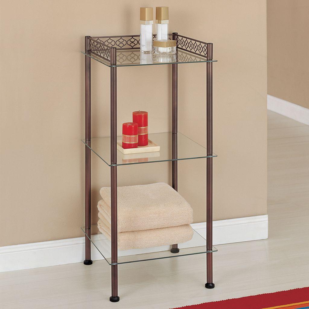 Neu Home Scrolled 3-Tier Shelf