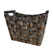 Neu Home Water Hyacinth and Maize Tapered Basket