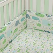 Banana Fish Little Whales Crib Bumper by MiGi