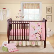 Banana Fish Love Bird 3-pc. Crib Bedding Set