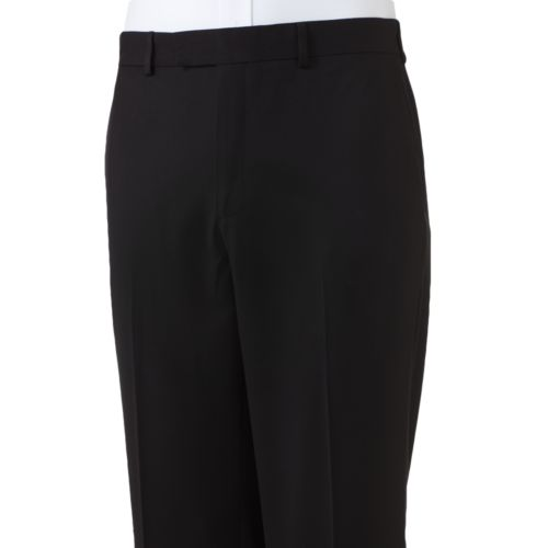 Axist Slim-Fit No-Iron Flat-Front Dress Pants