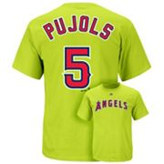 Majestic Los Angeles Angels of Anaheim Albert Pujols Tee - Boys 8-20