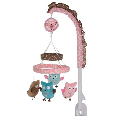 Banana Fish Calico Owls Musical Mobile