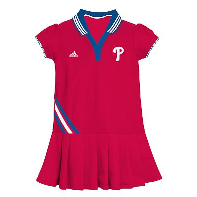adidas Philadelphia Phillies Polo Dress - Baby