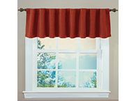 Red Valances