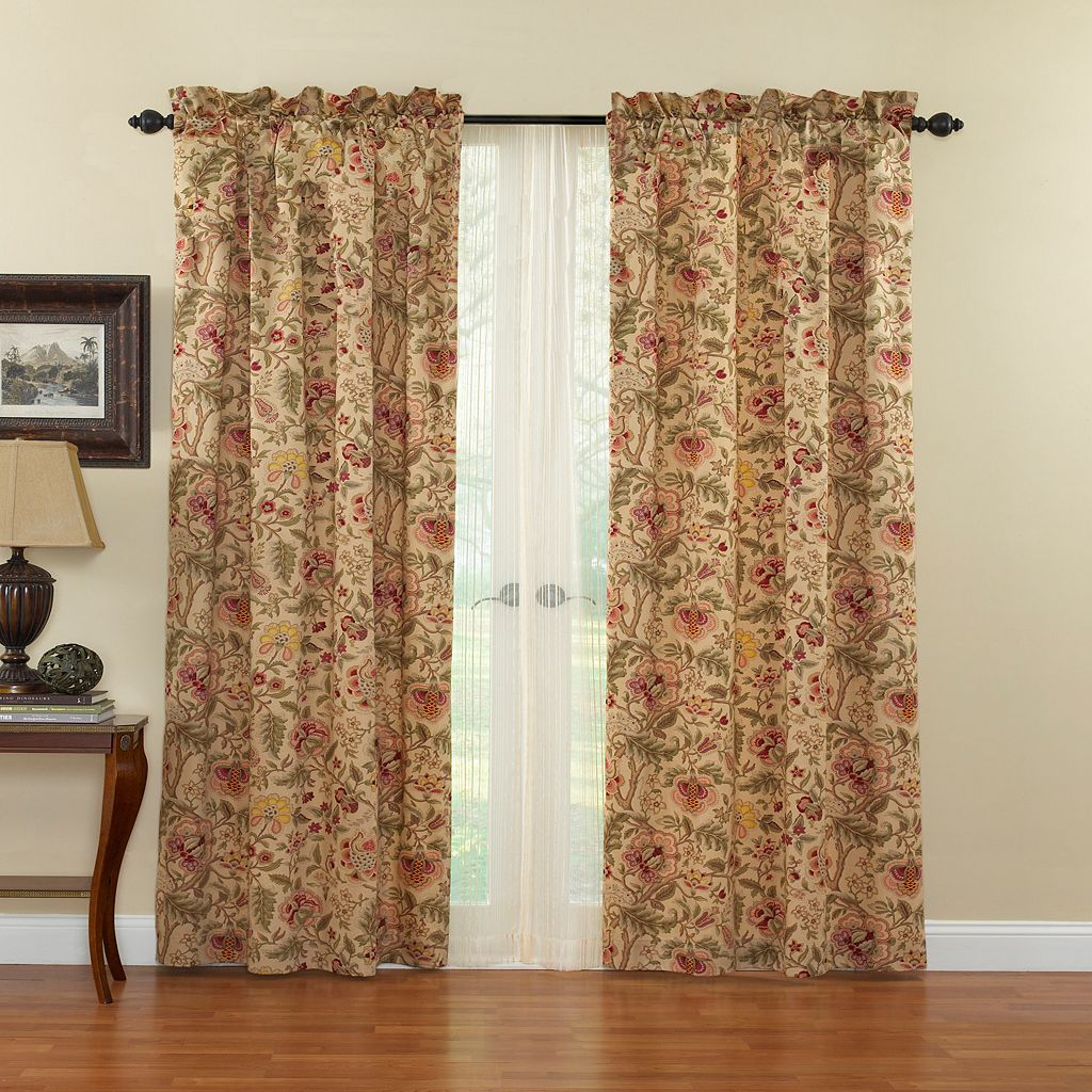 Waverly Imperial Dress Curtain - 42'' x 84''
