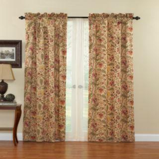 Waverly 1-Panel Imperial Dress Window Curtain - 42'' x 84''