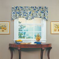Waverly Imperial Dress Window Valance - 80'' x 18''
