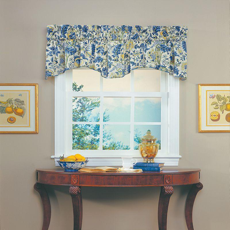 Waverly Imperial Dress Window Valance - Porcelain