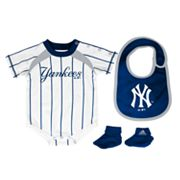 adidas New York Yankees Creeper Set - Baby