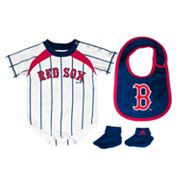 adidas Boston Red Sox Creeper Set - Baby