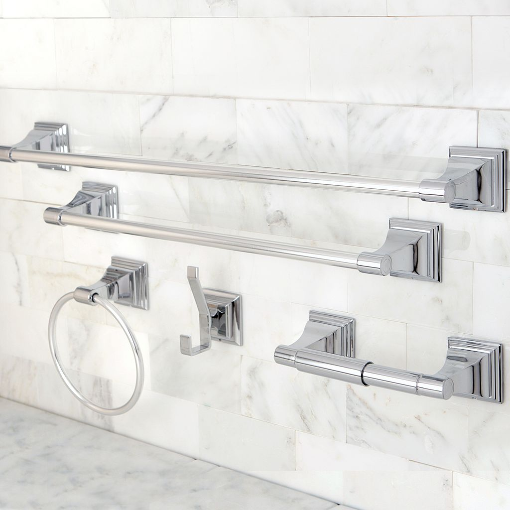 Classic 5-pc. Chrome Towel Bar Set