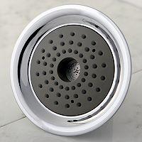 High-Velocity Chrome Finish Showerhead