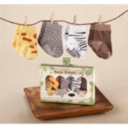 Baby Aspen Sock Safari Sock Gift Set - Baby