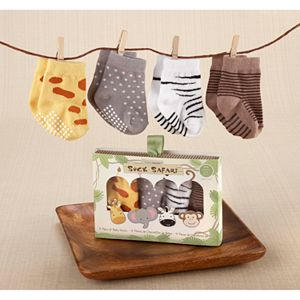 Baby Aspen Sock Safari Sock Gift Set - Baby