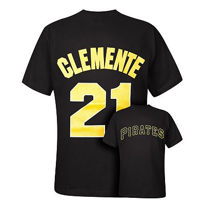 Pittsburgh Pirates Roberto Clemente Cooperstown Tee - Big and Tall