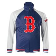 Majestic Boston Red Sox Cap Tricot Track Jacket - Big and Tall