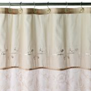 Croft and Barrow Belle Fabric Shower Curtain