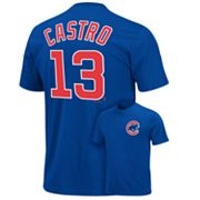 Majestic Chicago Cubs Starlin Castro Tee