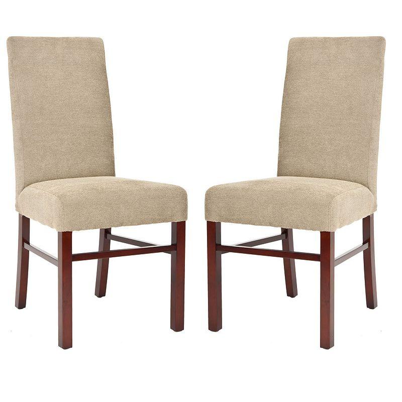 Safavieh 2-pc. Madeline Sage Side Chair Set, Brown, Furniture