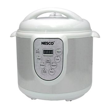 Nesco Stainless Steel 6-qt. Pressure Cooker