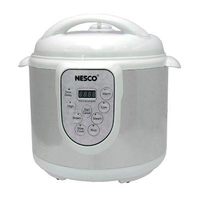 Nesco Stainless Steel 6-qt. Pressure Cooker