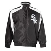 Majestic Chicago White Sox Colorblock Track Jacket - Big and Tall