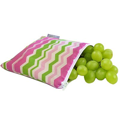 Itzy Ritzy Little Miss Zigzag Reusable Snack Bag