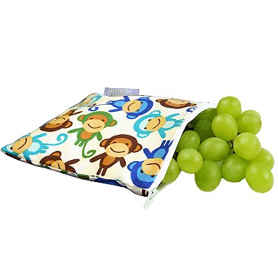Itzy Ritzy Funky Monkey Remix Reusable Snack Bag
