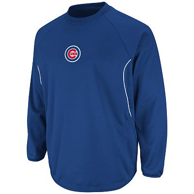Majestic Chicago Cubs Therma Base Tech Fleece - Big and Tall