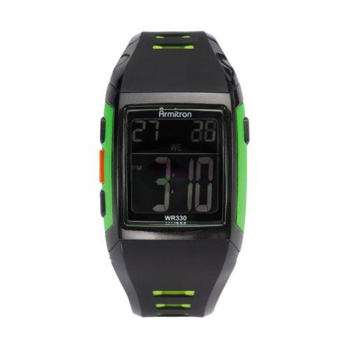 Armitron Watch - Men's Resin Digital Chronograph