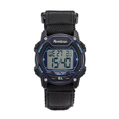 Armitron Women's Digital Chronograph Watch - 45/7004BLU