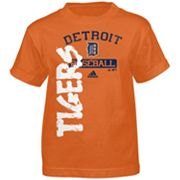 adidas Detroit Tigers Tee - Toddler