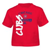adidas Chicago Cubs Tee - Toddler