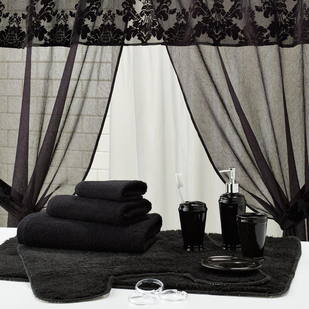 Sheer Velvet Bath Accessory Set