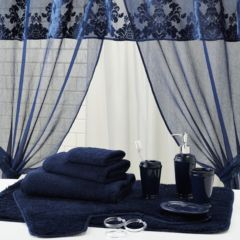 Navy Bathroom Accessories Navy Stripe Bath AccessoriesNavy Stripe