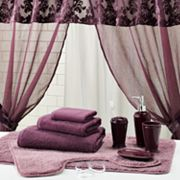 Sheer Velvet Bath Accessory Set