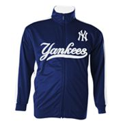 Majestic New York Yankees Big Tricot Track Jacket - Big and Tall