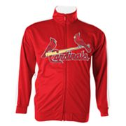Majestic St. Louis Cardinals Big Tricot Track Jacket - Big and Tall