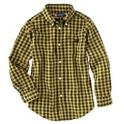 Chaps Buffalo Checked Button-Down Shirt - Boys 4-7