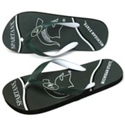 Michigan State Spartans Zori Flip-Flops