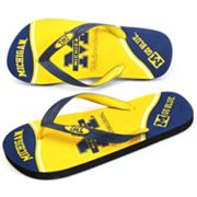 Michigan Wolverines Zori Flip-Flops