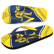 West Virginia Mountaineers Zori Flip-Flops