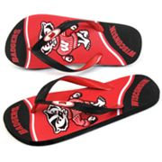 Wisconsin Badgers Zori Flip-Flops