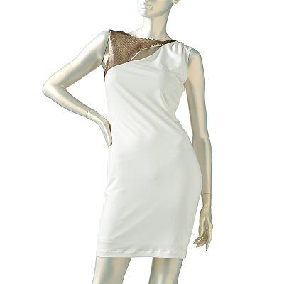 Jennifer Lopez Embellished Sheath Dress