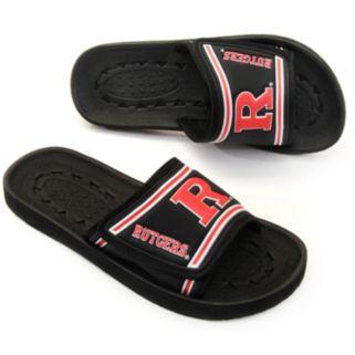 Adult Rutgers Scarlet Knights Slide Sandals