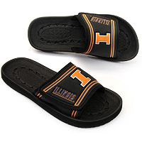 Adult Illinois Fighting Illini Slide Sandals
